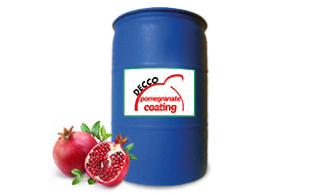 Pomegranate Coating