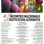 4° Incontro Nazionale sulla Frutticoltura Alternativa