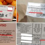 Buccia non edibile su agrumi, cosa vuol dire?